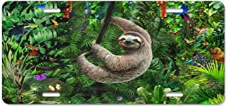 Best sloth license plate Reviews