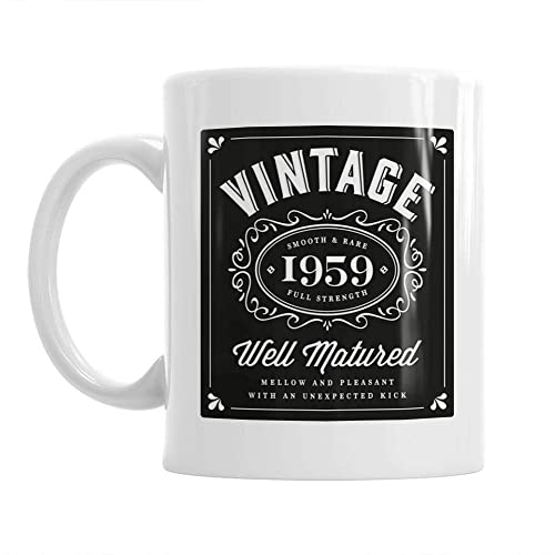 60th Birthday Gift Idea Vintage Classic Bourbon For Men Or Women Him