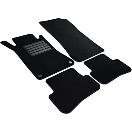 Fußmatte W203 S203 Ripsmatte Original Qualität Rips Autoteppich Fahrerseite Fahrermatte Mit Trittschutz Auto