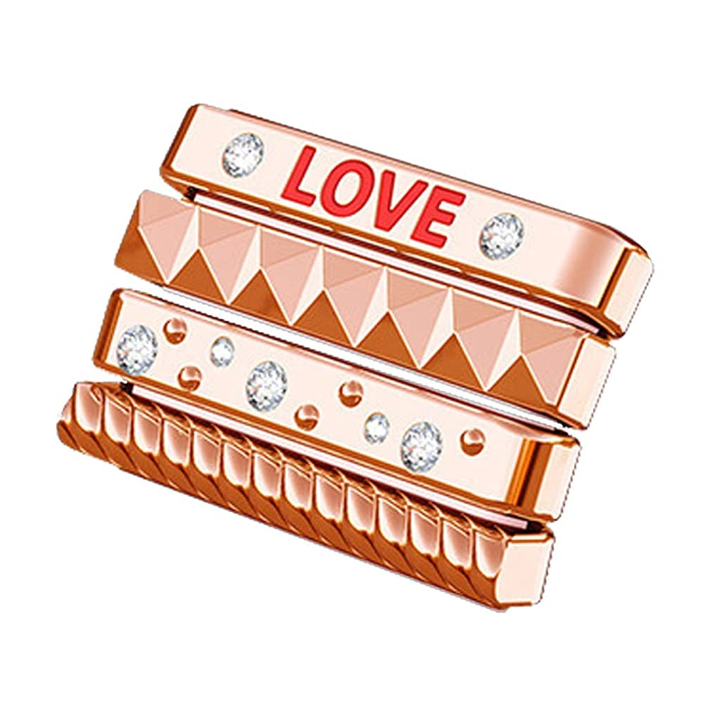 Lovewe iWatch 4 Watch Loops,Personalize Bling Sparkles Loops Classic Stack Personalize For Apple Watch 40mm 44mm For Women Men (Rose Gold, 44mm) efqvvah32346329