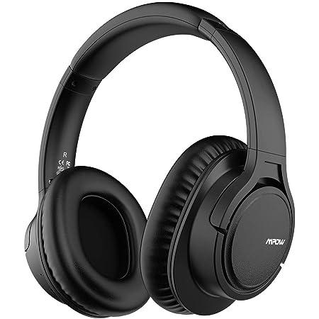 Mpow ヘッドホン H7 アップグレード版 bluetooth 5.0 密閉型 28時間再生 ワイヤレス ヘッドセット 40mm HD ドライバーユニット マイク内蔵 ハンズフリー通話可能 ブルートゥース ヘッドフォン ブラック