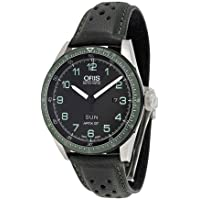ORIS Calobra GT Limited Edition Automatic Black Dial Men's Leather Watch