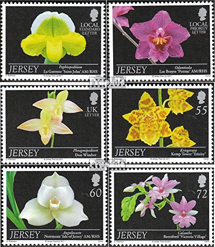 Prophila Collection GB-Jersey 1554-1559 (kompl.Ausg.) 2011 Orchideen (Briefmarken für Sammler)