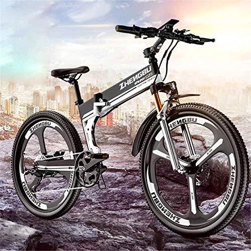 Alta velocidad Bicicletas de montaña eléctrica, de 26 pulgadas de aluminio plegable...