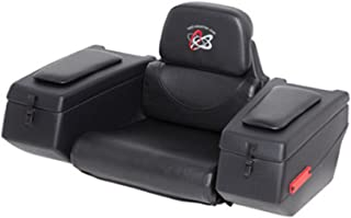 WES Industries AR-38 Rear Cargo Box Seat with Padded Arm Rest for Single Seat ATV 123-0020