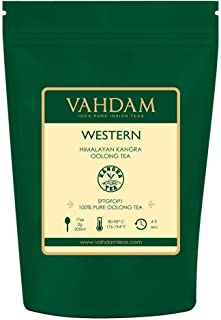 VAHDAM, Western Himalayan Oolong Tea Loose Leaf (50 Cups) | 100% PURE Oolong Tea Leaves | POWERFUL ANTI-OXIDANTS | Oolong Tea For Weight Loss | Natural Detox Tea | Brew as Hot or Iced Tea | 3.53oz