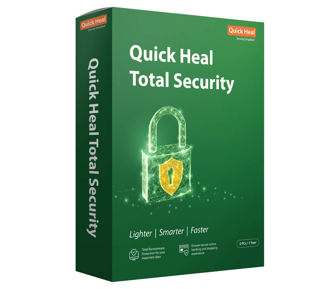 Quick Heal Total Security - 2 PC, 1 Year (DVD) : Amazon.in: Software