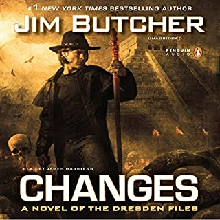 Changes: The Dresden Files, Book 12                   Written by:                                                                                                                                 Jim Butcher                               Narrated by:                                                                                                                                 James Marsters                      Length: 15 hrs and 26 mins     102 ratings     Overall 4.9