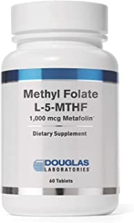 Douglas Laboratories - Methyl (L-5-MTHF) - 1,000 mcg Metafolin Identical to the Naturally Occurring Form of to Support Ove...