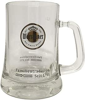 Warsteiner Beer Mug 0.5 Liter (0.5 Liter)