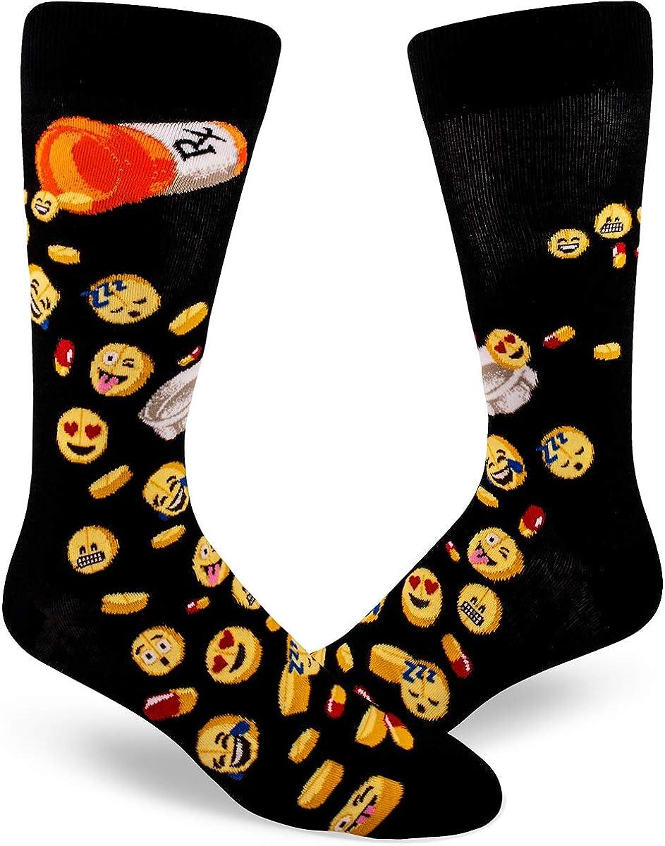 ModSocks Men's Funny Crew safety Socks Austin Mall