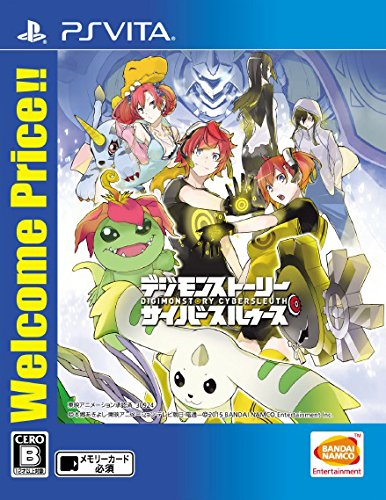 Digimon Story Cyber Sleuth (Welcome Price!!) SONY PS VITA Import Japonais
