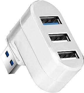 CMDZSW 3 porte Multi 2.0/3.0 Hub USB Hub ad alta velocità ruota Splitter adattatore per computer portatile notebook per PC...