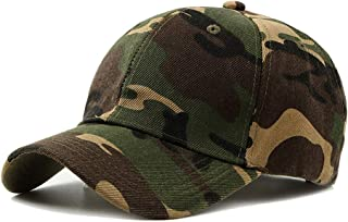 2019 Women Military Peaked Cap Army for Unisex Camouflage Baseball Cap Camo Adjustable 6 Panel Oversized Sun Hat (Color : 1, Size : Free Size)