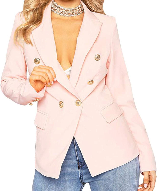 GuySex Ladies Black Blazers Feminino Formal Jacket Women Short Slim Female LongSleeve Business Suit WS2509C