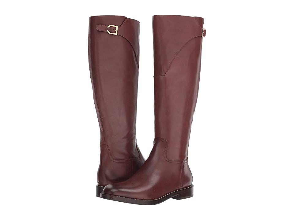 Cole Haan Harrington Grand Riding Boot (Bitter Chocolate) Women