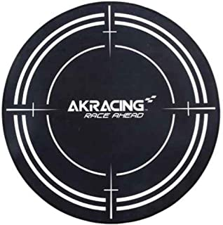akracing ak-floormat-bk Black Polyester Surface Protection Protectors of Surfaces (1020mm; 140mm; 140mm)