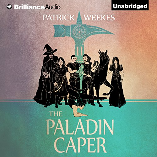 The Paladin Caper audiobook cover art