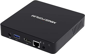 Z83-F Mini PC Fanless Silent Desktop 4GB RAM, 64GB eMMC Windows 10 Pro Micro PC, HD Intel Quad Core CPU up to 1.92GHz, 100...