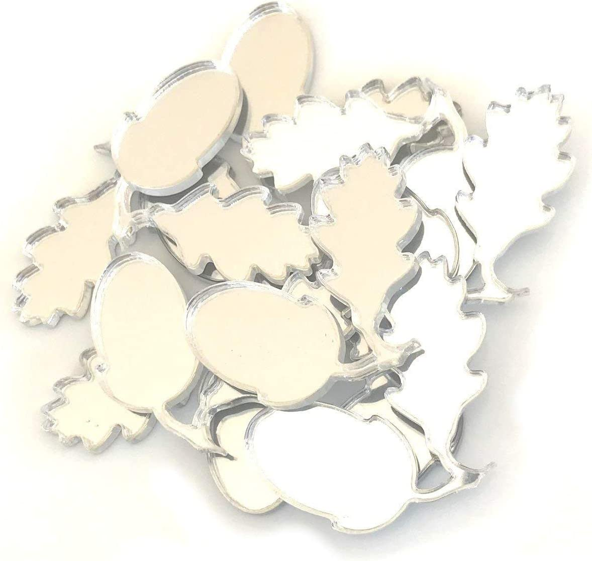 Super Cool Creations Acorn Shaped Crafting Set M Long Max 73% OFF Beach Mall 10 Mirrors of