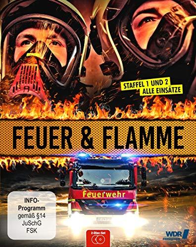 Feuer und Flamme - Mit Feuerwehrmännern im Einsatz - Staffel 1+2 (Blu-ray)