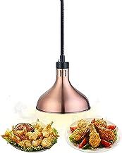 GPMBHNV Lampe de Chaleur Alimentaire 250W,réchauffeur Commercial réchauffeur,Lampe chauffante Suspendue rétractable pour H...