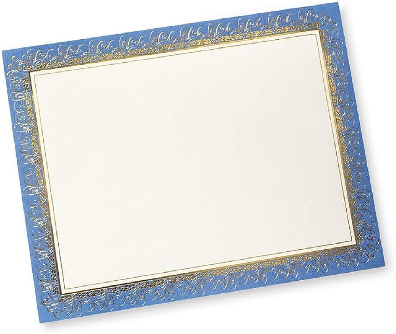 Gartner Folie für 15 Stück, blau, Gold B003XIEG24   ein ein ein guter Ruf in der Welt  ba4041