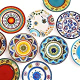 N&G Daily Equipment Plates Ceramic Tableware Steak Plates Handmade Plate...