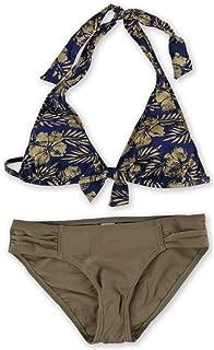 Womens Tiki Moon Side Tab 2 Piece Bikini