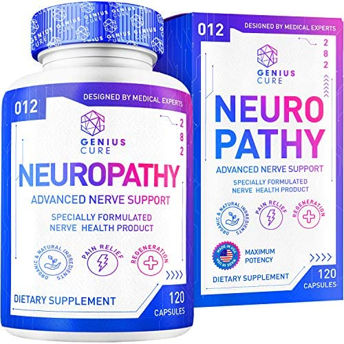 Neuropathy Support Supplement Nerve Pain Support Perfect for Peripheral Neuropathy Feet Hand product image