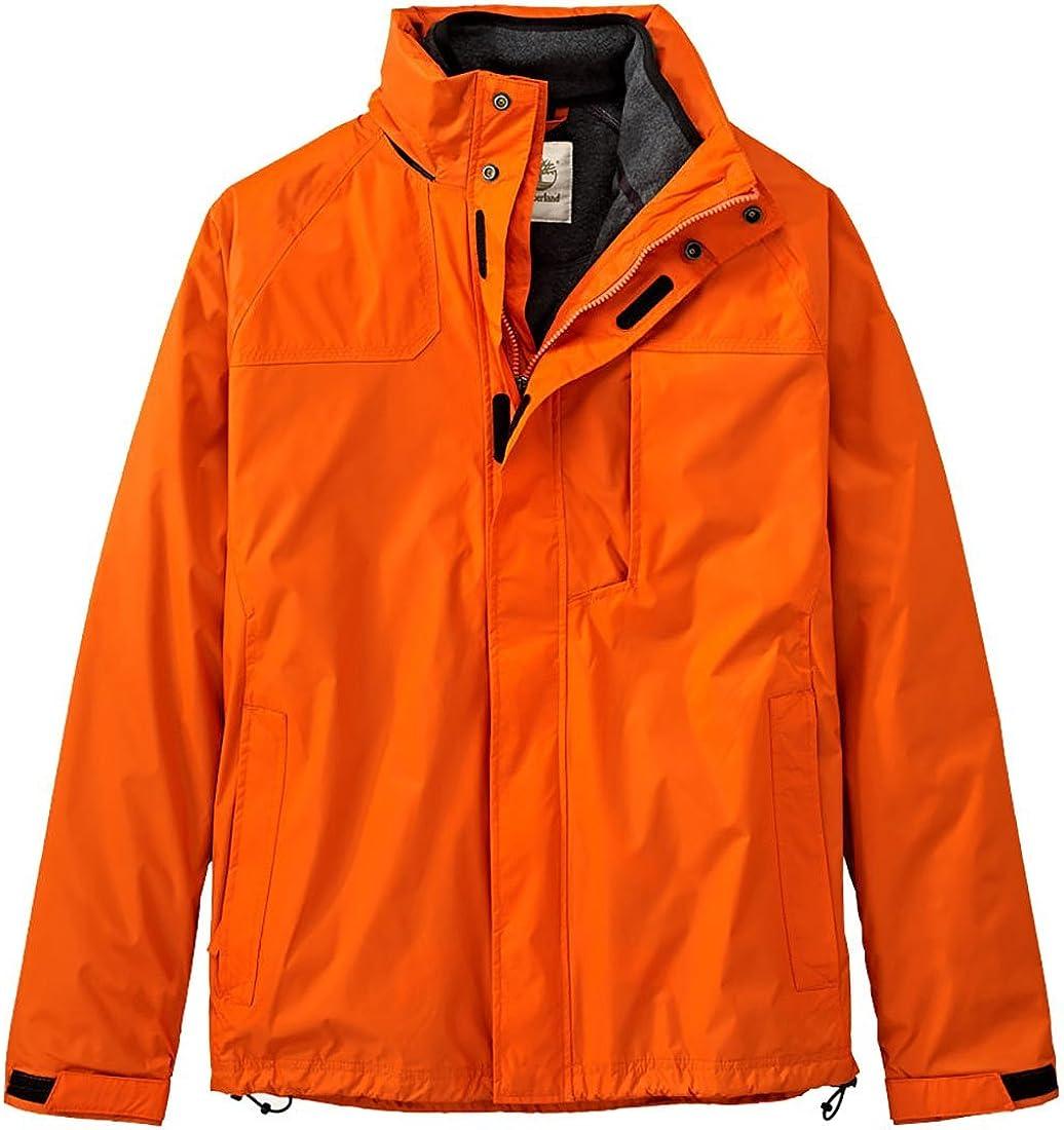 Timberland Men's MT. Crescent 3 in 1 Fleece Lined Waterproof Jacket