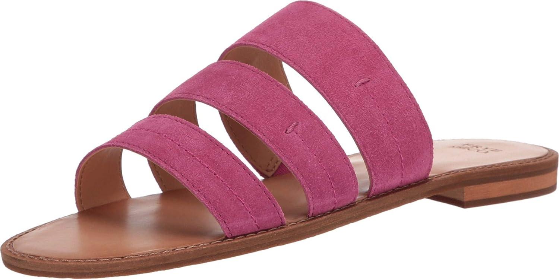 Frye and Co. Women's Evie 3 Band Slide Flat Sandal