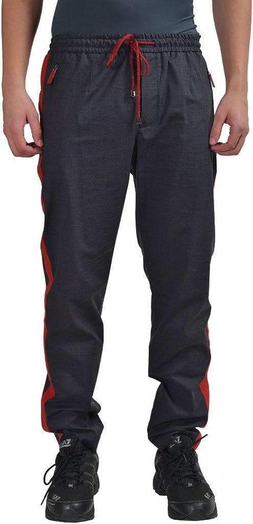 Dolce & Gabbana Men's Gray Casual Pants