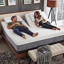 Blissful Nights - e4 Split Head Flex Top King Size Adjustable Bed Frame Set with 12