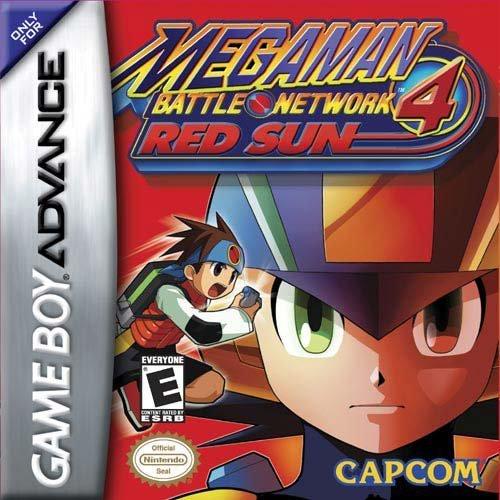 MegaMan Battle Network 4: Red Sun by Capcom