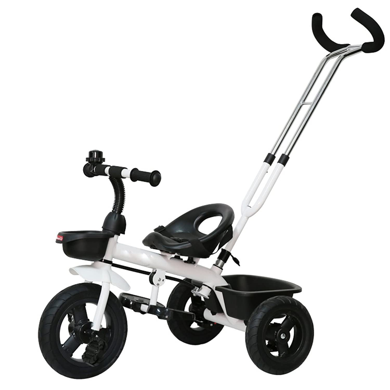 YANFEI 子ども用自転車 子供の三輪車バイク1-3歳のベビーバイクベビーカー2-4-6歳 子供用ギフト