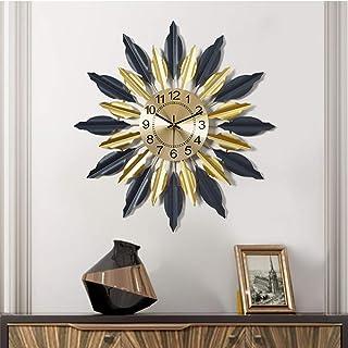 Wall Clock- Metal/Personality/Homepage/Clock, Fashion Wall Clock Mute Creative Clock Wall Clock Living Room Bedroom,Delica...