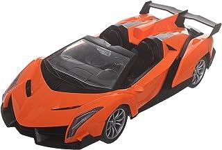 لعبة سيارة مع جهاز تحكم عن بعد للاولاد من اكس اف 27-16T ، اسود برتقالي