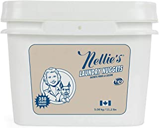 Nellie's Laundry Nuggets, 350 Load Bucket - Easily Dissolvable
