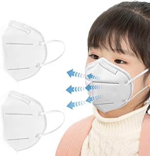 50Pcs Disposаble_N95_Face Mẵsk For Child FDẴ Certified Coronàvịrụs Protectịon kid's 5-Ply Filtеr Fàce Màsk_ White (20pcs)