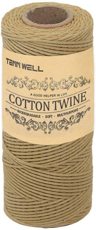 Long-awaited Tenn Well Bakers Twine 3Ply Cotton 109Yard Year-end annual account S Food Kitchen