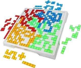【 The earth crew 】 陣取り ボードゲーム ブロックパズル 知育 簡単だけど奥深い戦略ゲーム