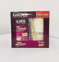 Golden Best Instant Turkish Coffee Well Sugar - 11g x 10 Sachets