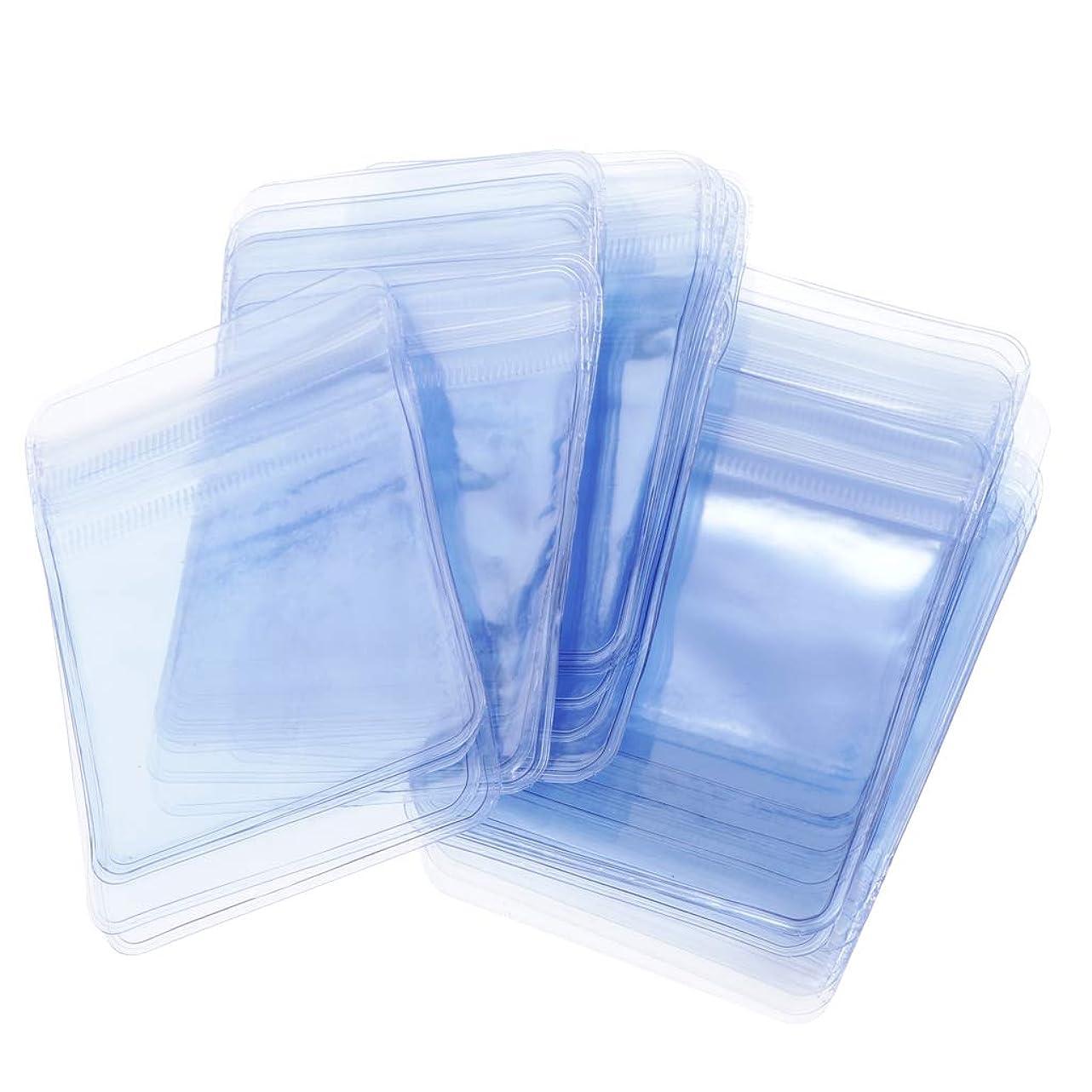 比類のない市長残酷B Baosity 約100枚/セット ラッピング袋 透明ポリ袋 保存袋 小分け 収納袋 ビーズ アクセサリー ギフトバッグ 全3サイズ - 5cm*7cm