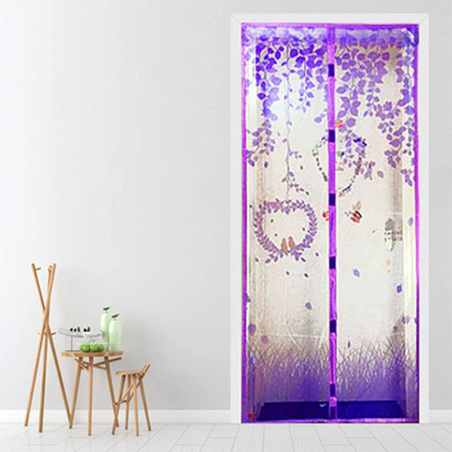 GGXX Screen Great interest Doors with Yourself Attracted Mesh X Curtain - Selling 21 70