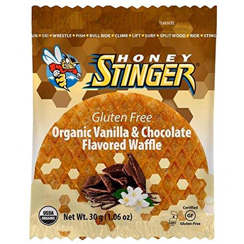 Honey Stinger Gluten Free Waffles - 16 Pack (Vanilla/Chocolate)