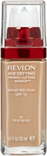 """Revlon Age Defying Firming and Lifting Makeup, True Beige (""""Packaging may Vary"""" )"""