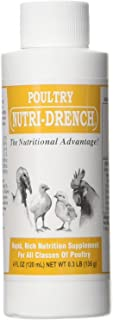 BOVIDR LABORATO 617407594416 Nutri-Drench Poultry Solution 4 FL OZ, Multicolor