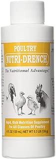 BOVIDR LABORATO 617407594416 Nutri-Drench Poultry Solution 4 FL OZ, Multicolor