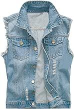 Best denim vest cut off Reviews